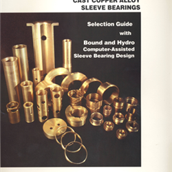 Cast Copper Alloy Sleeve Bearings Design Guide
